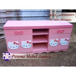Bufet Hello Kitty Cat Duco