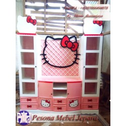 Bufet TV atau Lemari TV Hello Kitty