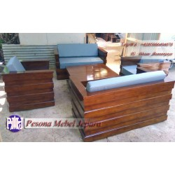 Kursi Tamu Box kayu Jati