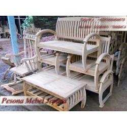 Kursi Tamu Sedan atau Kursi Tamu Retro atau Kursi Becak